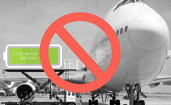 US DOT strengthens safety provisions for lithium batteries transported by aircraft