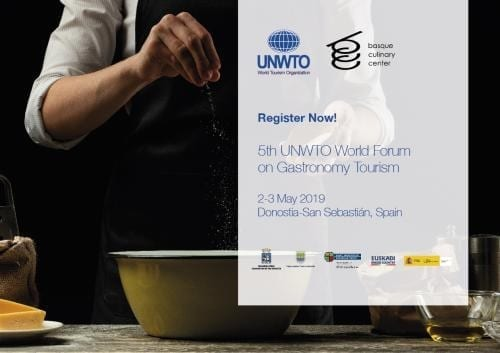 UNWTO global gastronomy tourism event: Job creation, entrepreneurship and development