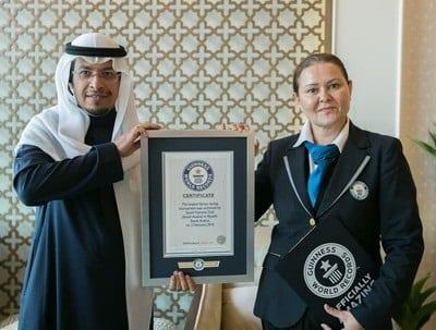 Saudi King Abdul Aziz Falconry Festival breaks new Guinness records