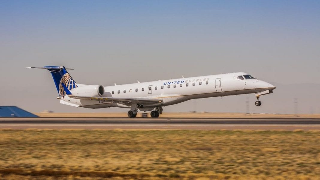 United Airlines picks GoJet to fly its new Bombardier CRJ550 planes