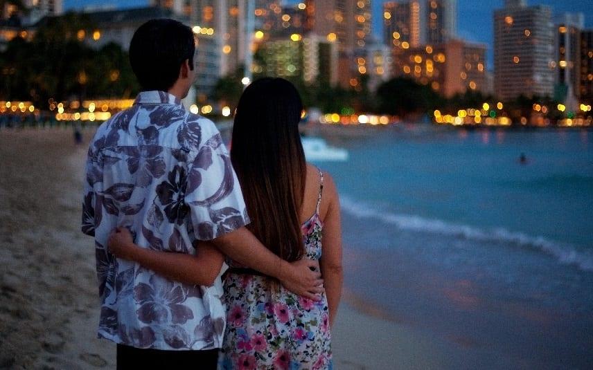 Honolulu ranked #1 most desired Valentine's Day romantic getaway