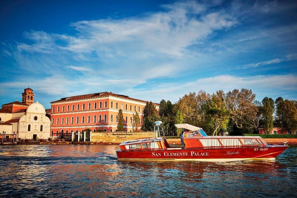 Venice's San Clemente Palace Kempinski reopens