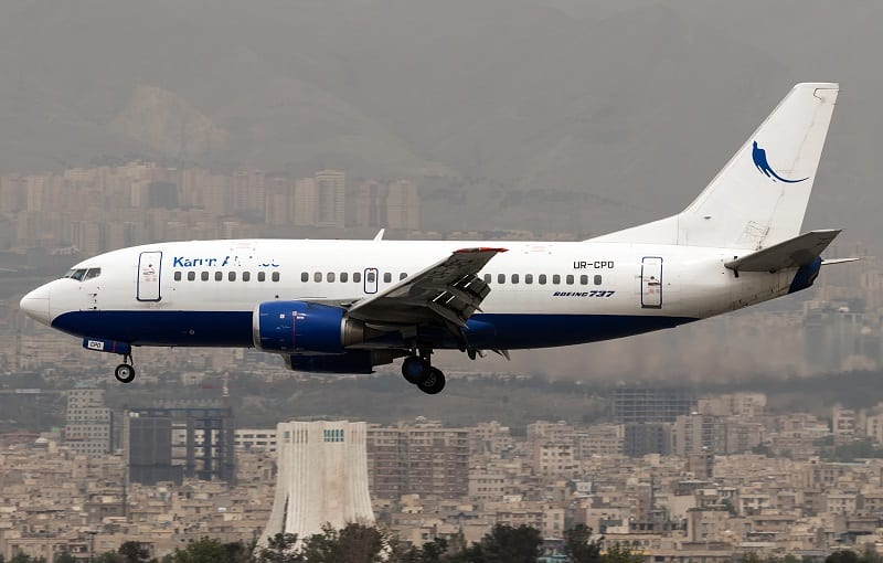 Iran puts its oldest charter airline on the block