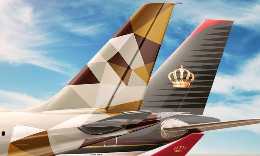 Etihad Airways and Royal Jordanian Airlines announce codeshare agreement