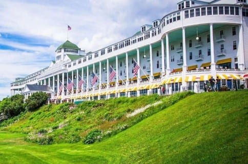 Hotel history: The Grand on Mackinac Island still thriving after 132 years