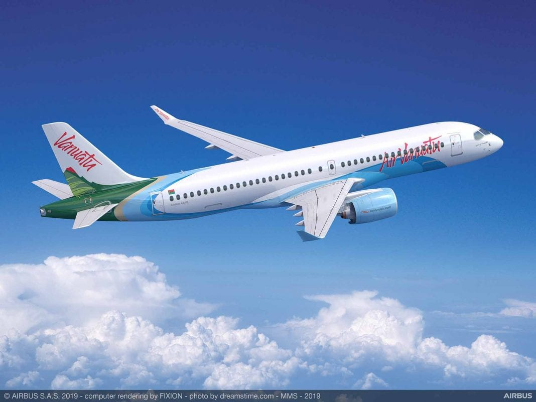 Air Vanuatu is counting on Airbus for fleet expansion
