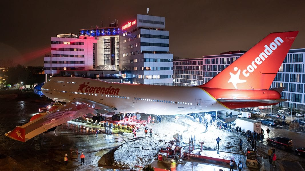 1989-2019: Baptized by Thai monks KLM Boeing 747 landed at Amsterdam Schiphol Hotel garden