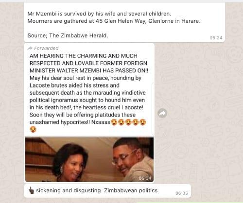 , Former ZImbabwe Tourism Minister Dr. Walter Mzembi is alive, Buzz travel | eTurboNews |Travel News