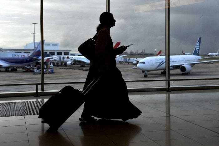 No entry to Australia for Saudi Women traveling without male guardian?