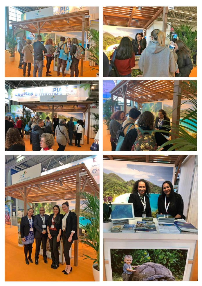 , The Seychelles Islands displayed at the MATKA Nordic Travel Fair 2019, For Immediate Release   Official News Wire for the Travel Industry, For Immediate Release   Official News Wire for the Travel Industry