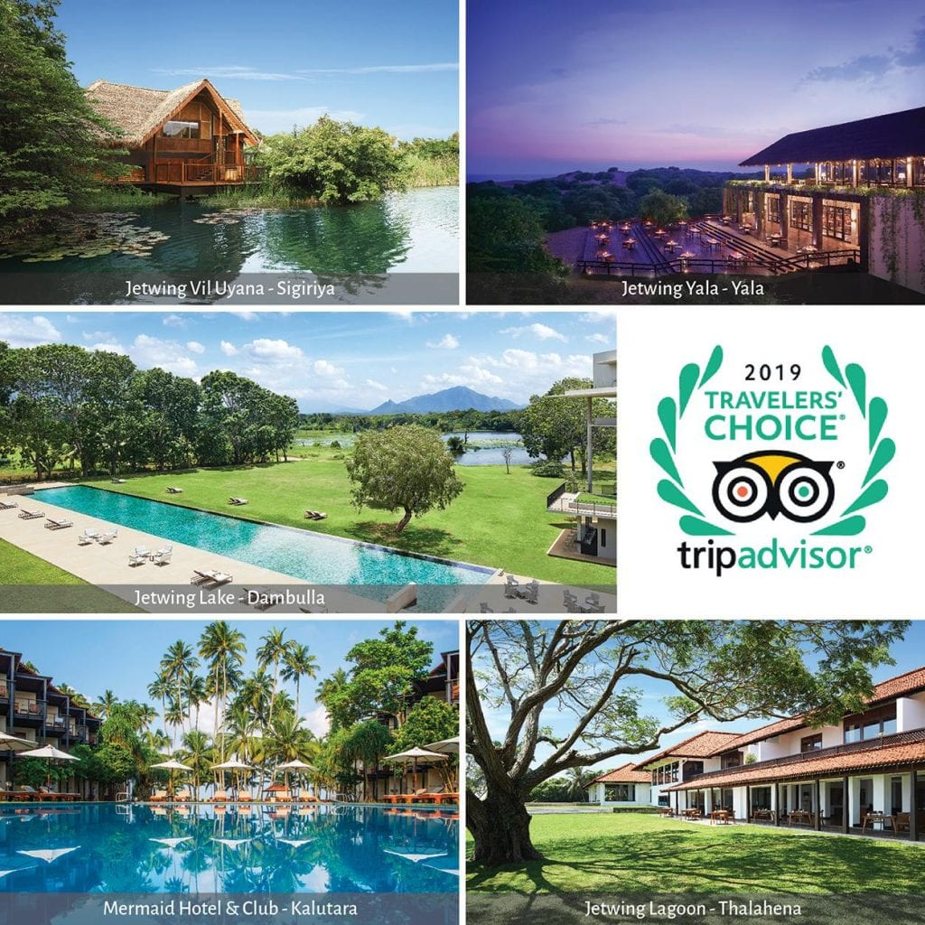 The world has spoken: 5 Jetwing Hotels among the top 25 hotels in Sri Lanka
