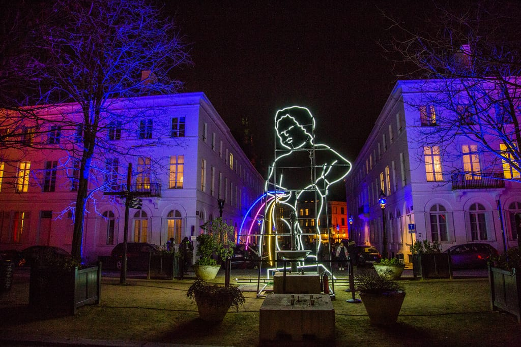 Bright Brussels Festival of Light: More than 180,000 visitors