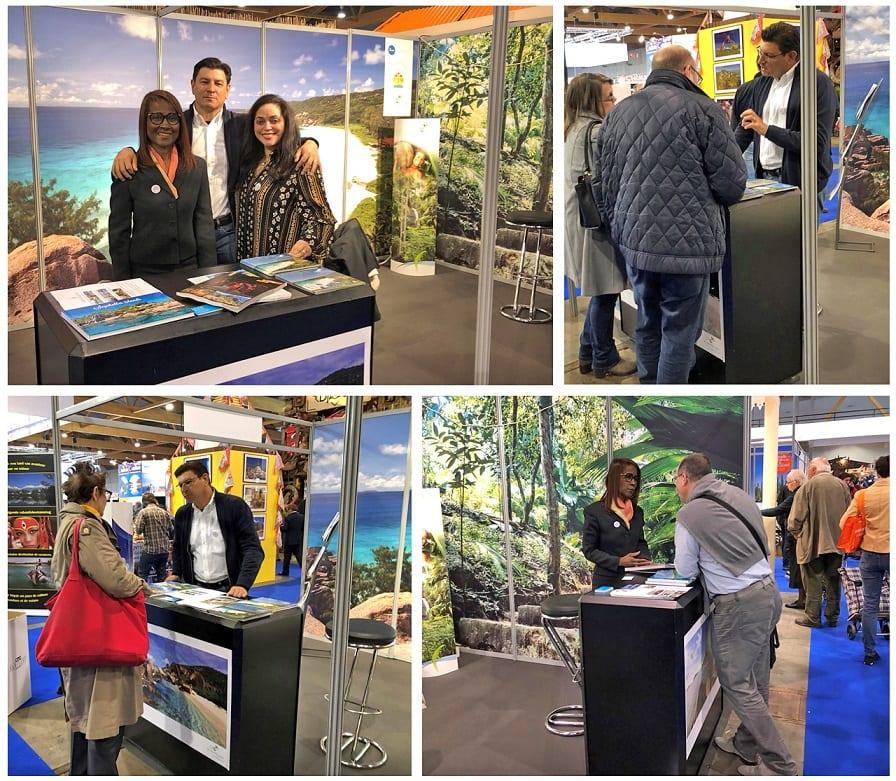 Destination Seychelles receives exposure at 'Le salon de Vacances' fair in Belgium