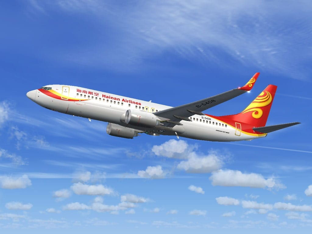 Hainan Airlines connects capital of China's Hainan Province and Japan's second-largest city