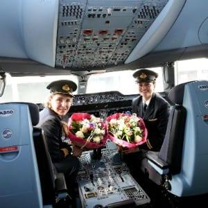 , European policymakers praise Qatar Airways all-female flight, Buzz travel | eTurboNews |Travel News