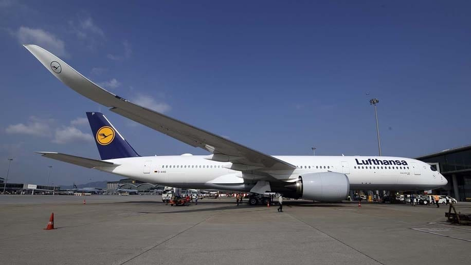 Lufthansa orders 20 additional Airbus A350-900 wide-body jets
