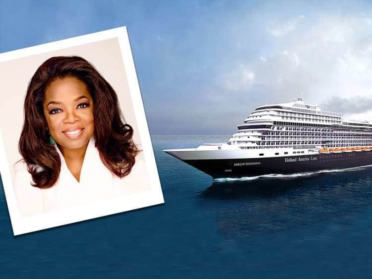 , Holland America Line bestows Shared Humanity Award to Oprah Winfrey, Buzz travel | eTurboNews |Travel News