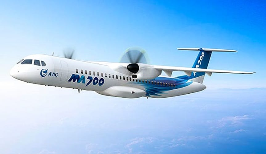 , New Chinese MA700 turboprop aircraft will roll off production line in September, Buzz travel | eTurboNews |Travel News