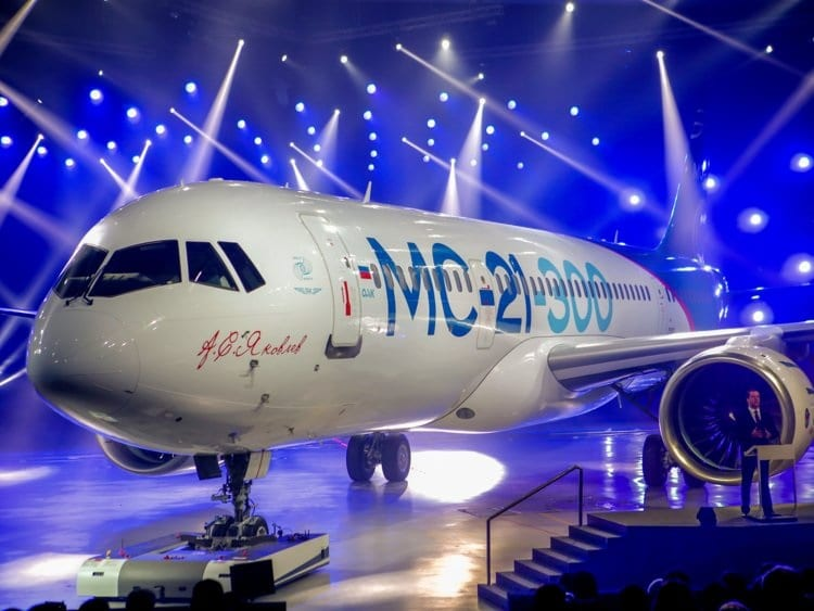 Russia to debut MC-21 narrow-body passenger aircraft at MAKS 2019 Air Show