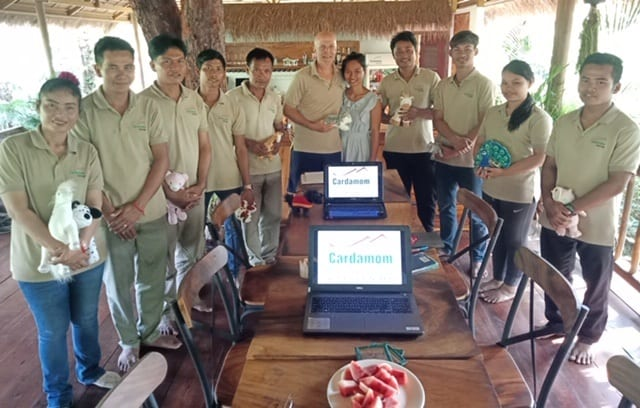 Tourism teacher holds Spirit of Hospitality workshop in Cambodian Jungle