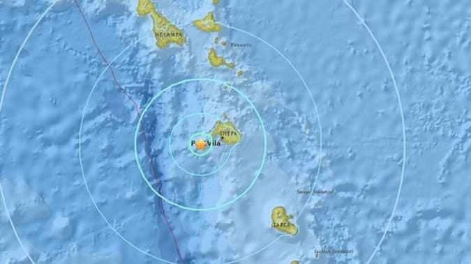 Strong 6.3 earthquake strikes Vanuatu, no tsunami warning so far