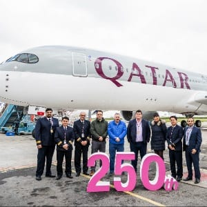 , Significant milestone: Qatar Airways takes delivery of its 250th aircraft, Buzz travel | eTurboNews |Travel News