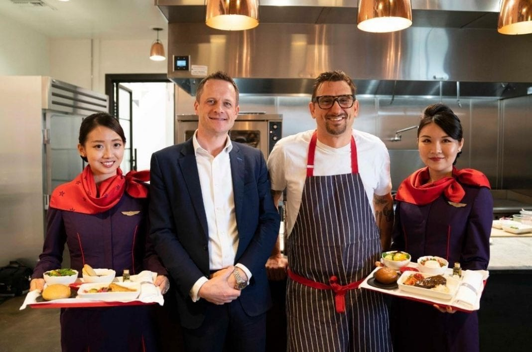 Hong Kong Airlines debuts Chris Cosentino's Business Class menu