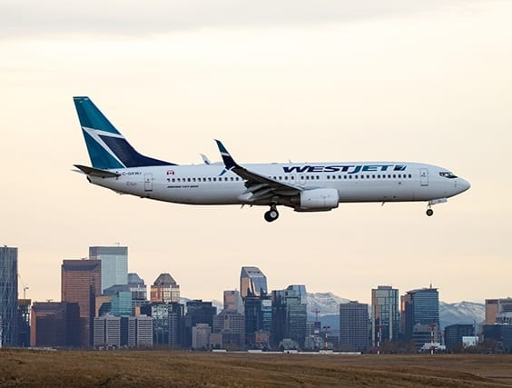 WestJet launches inaugural flight between its Calgary hub and Atlanta