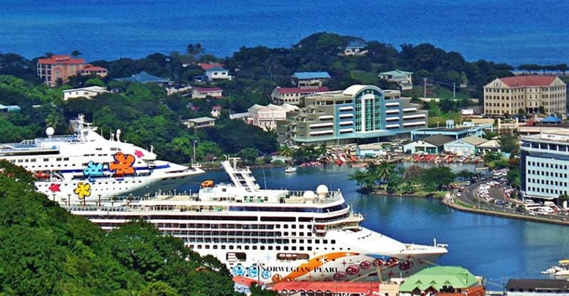 Saint Lucia expects to welcome over 140K cruise tourists in March 2019