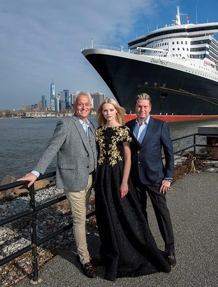 , Fashion legends Badgley and Mischka to headline Cunard's 2020 Transatlantic Fashion Week, Buzz travel | eTurboNews |Travel News