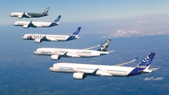 Airbus delivers 49 aircraft to 33 customers in February