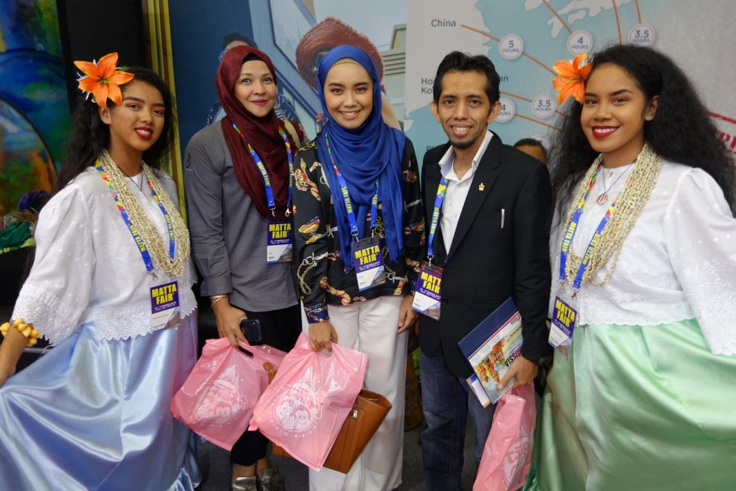 Strong interest in Guam grows at travel fair in Malaysia