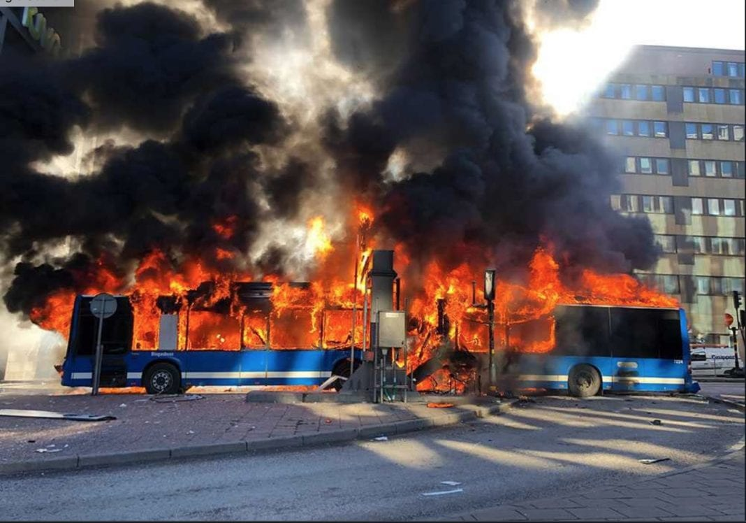 No terror when tour bus exploded in Stockholm