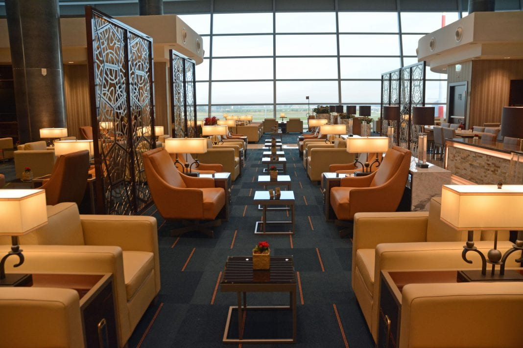 Emirates debuts new lounge at FCO Rome airport