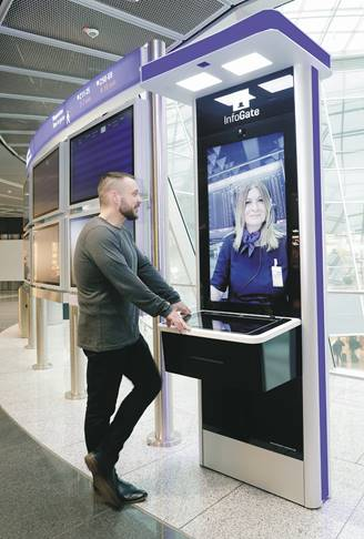 , Information at Your Fingertips:  Infogates Offer Personalized Guidance via Video Cal, Buzz travel | eTurboNews |Travel News