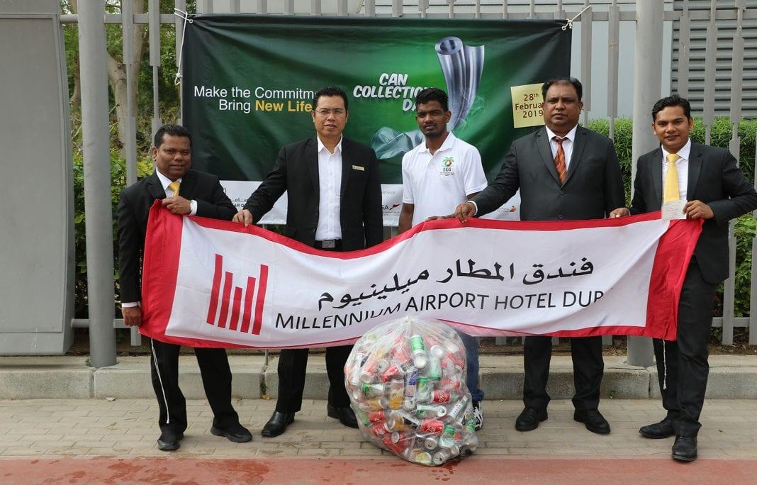 Millennium Airport Hotel Dubai participates in Can Collection Day