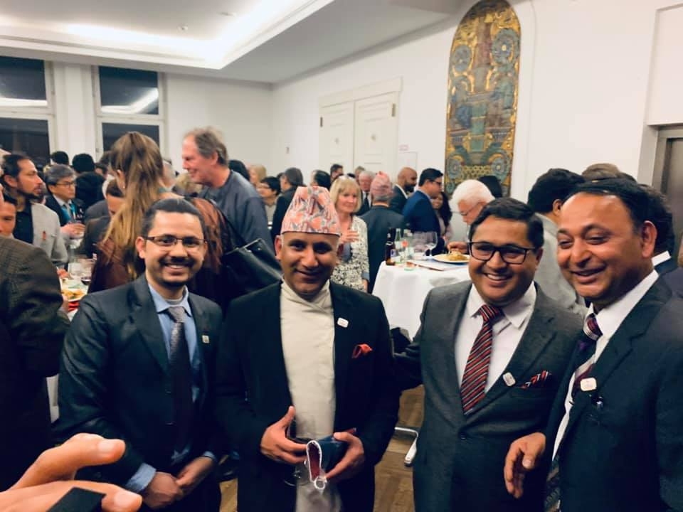 Visit Nepal 2020 launch in Berlin took over ITB last night