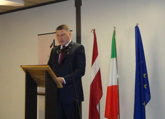 "3rd edition of the ""Days of Latvia"" opens in Italy"