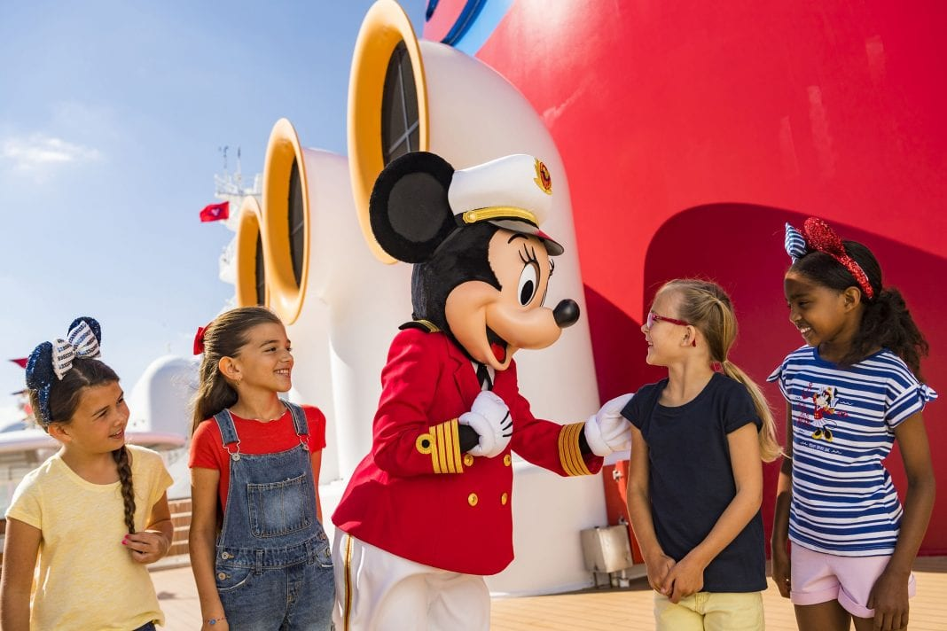 Disney Cruise Line and Captain Minnie Mouse inspire future female ship captains