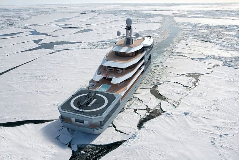 Russian billionaire buys world's first private icebreaker