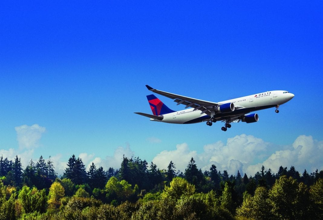 Delta Air Lines offsets most carbon emissions for over 300K customers on Earth Day
