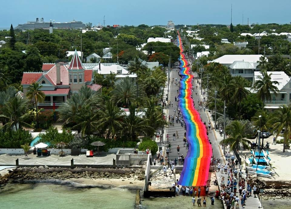 Key West welcomes visitors to its annual island-wide Pride festivities