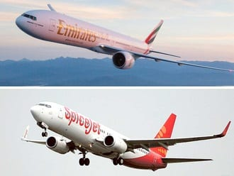 Six Indian cities join Emirates network with new SpiceJet codeshare deal