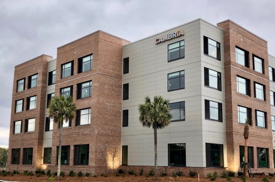 Cambria Hotels opens second property in Charleston, SC