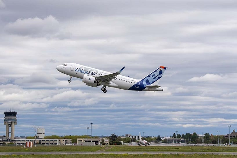 , Pratt & Whitney-powered Airbus A319neo makes maiden flight, Buzz travel | eTurboNews |Travel News