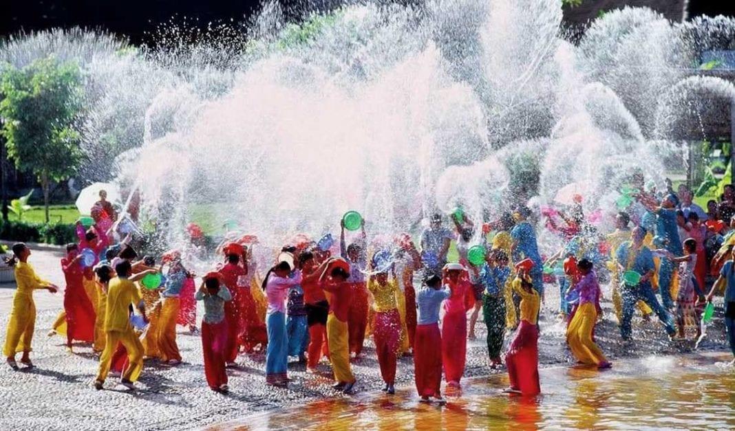 Myanmar's Thingyan water festival kicks off Saturday morning