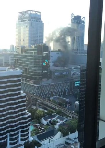 At least three people die jumping from Bangkok skyscraper to escape hotel fire
