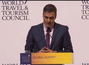 WTTC Summit, WTTC Summit Opened in Seville: Spain's president says not to build walls, Buzz travel | eTurboNews |Travel News