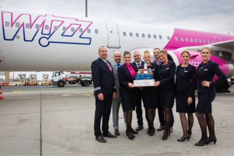 Wizz Air boosts Budapest Airport's summer schedule