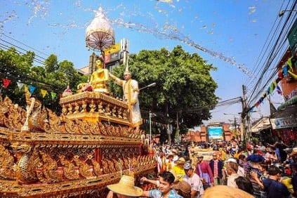 Thailand:  Songkran 2019 increased tourism revenue